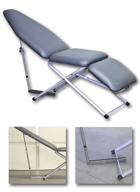 UltraLite Patient Chair with Scissor Base