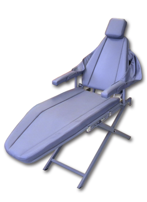 Supreme Patient Chair with Scissor Base